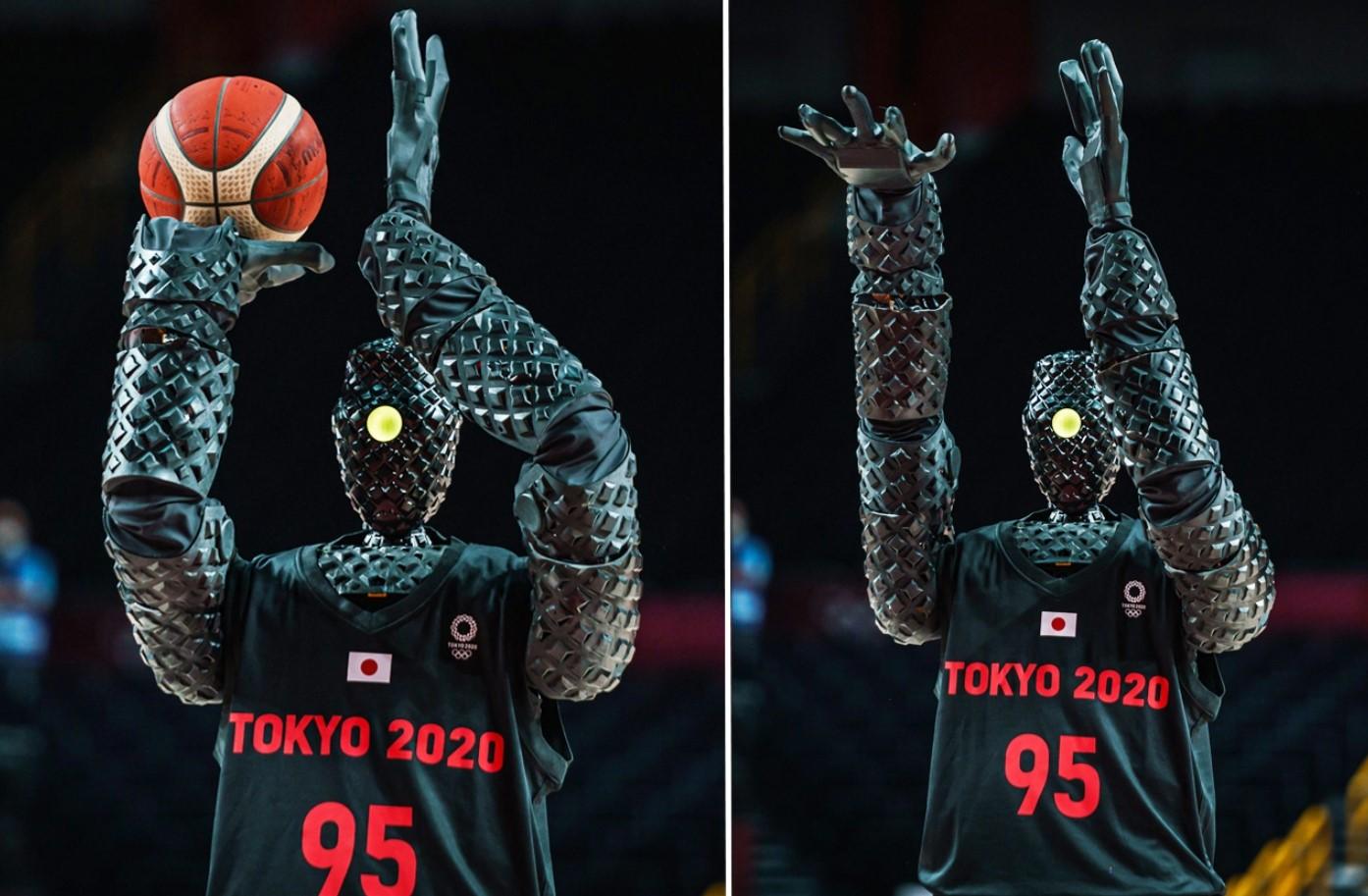 อย่างคูลลล !! ญี่ปุ่นโชว์หุ่นยนต์ชู๊ตบาสครึ่งสนามใน โตเกียวโอลิมปิก 2020